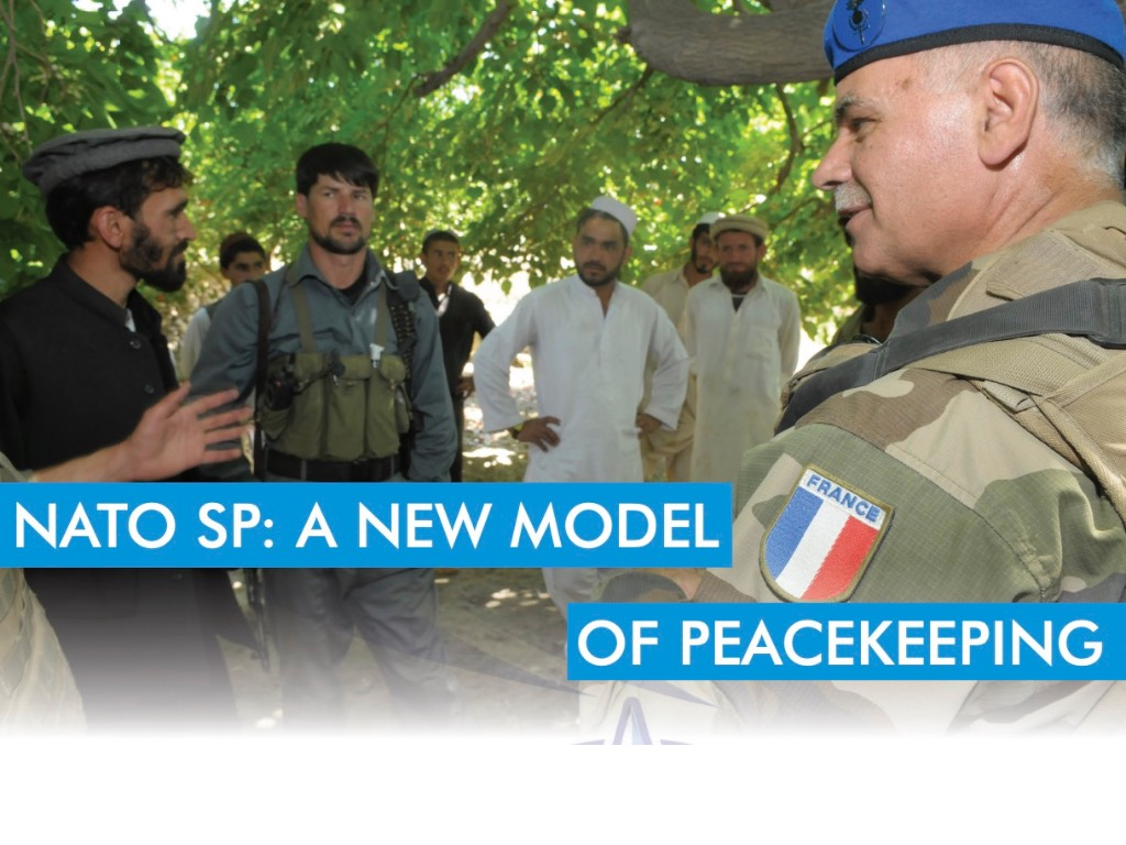 NATO SP: A NEW MODEL OF PEACEKEEPING. COESPU MAGAZINE N.3
